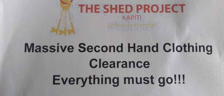 Massive Second Hand Clothing Clearance