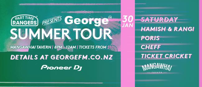 Part Time Rangers Presents George Summer Tour