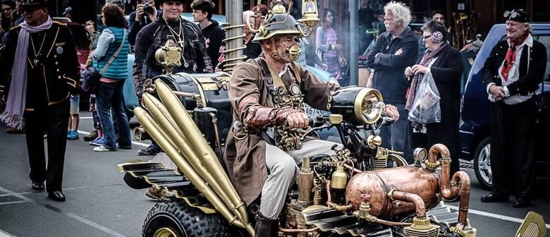 Steampunk Thames Parade