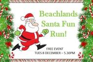 Santa Fun Run Beachlands!