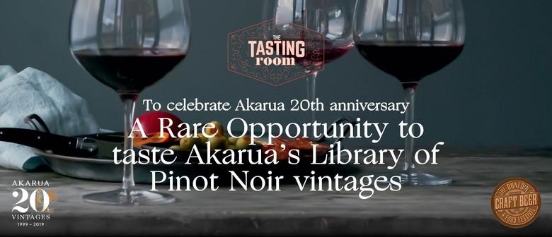 The Tasting Room - Akarua Pinot Noir Vintage