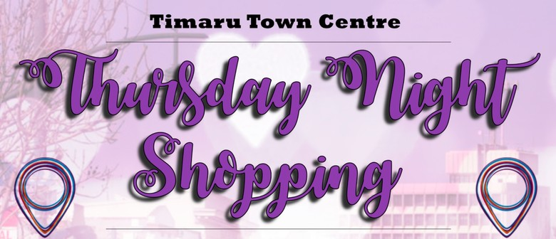 Late Night Thursday Shopping for Christmas