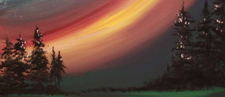 Paint & Chill Saturday Night - Aurora Australis