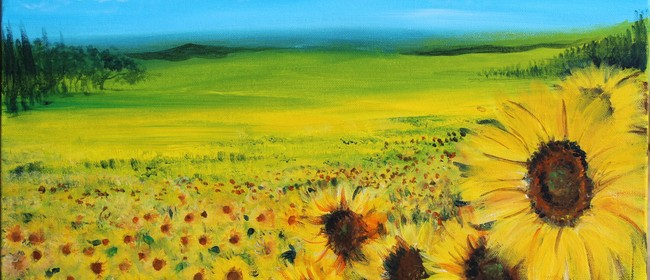 Paint & Chill Friday Night - Sunflower Field