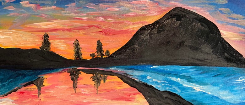 Paint and Wine Summer Series - Sunset at the Mount