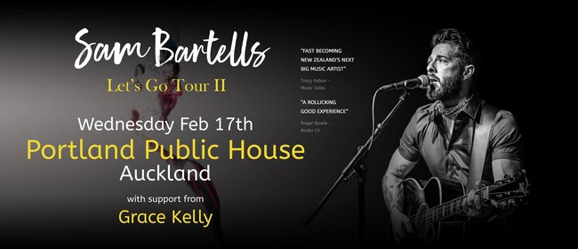 Sam Bartells - Let's Go Tour ll: CANCELLED