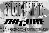 The Cure - Siouxsie - Live Tribute