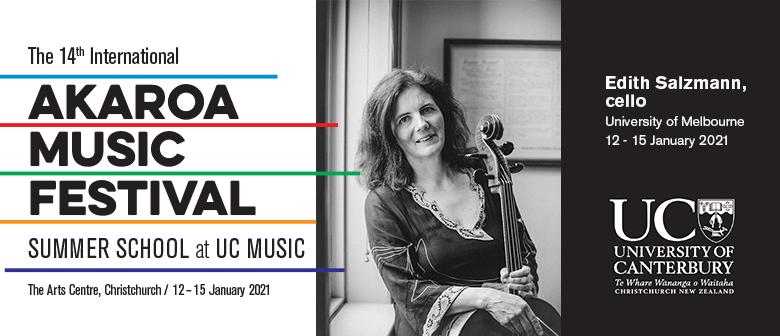 Intern Akaroa Music Festival - Masterclass Cello
