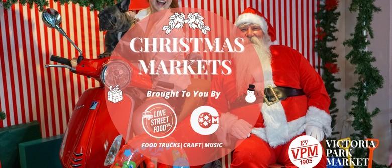Christmas at Victoria Park Market