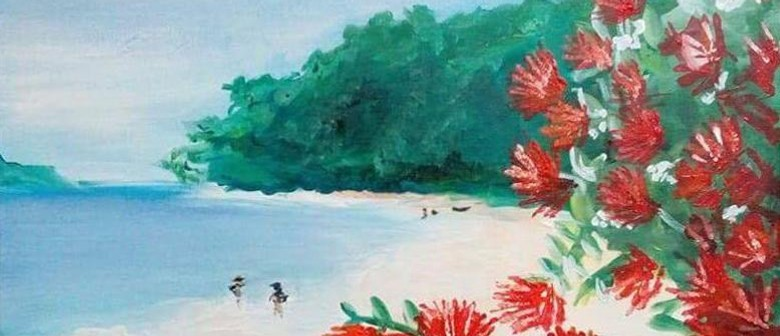 Paint & Wine Night - Summer in NZ - Paintvine