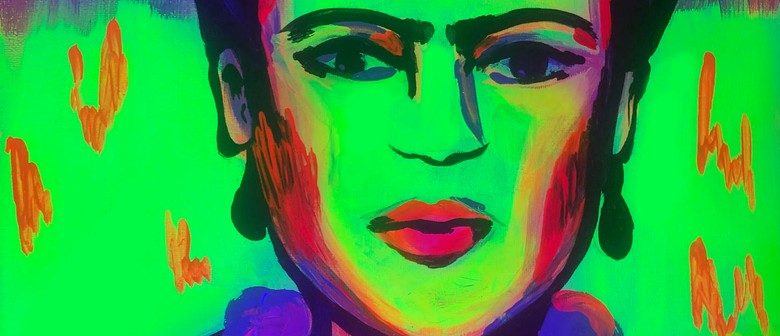 Glow in the Dark Paint Night - Fluro Frida