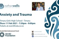 Nathan Wallis Anxiety and Trauma