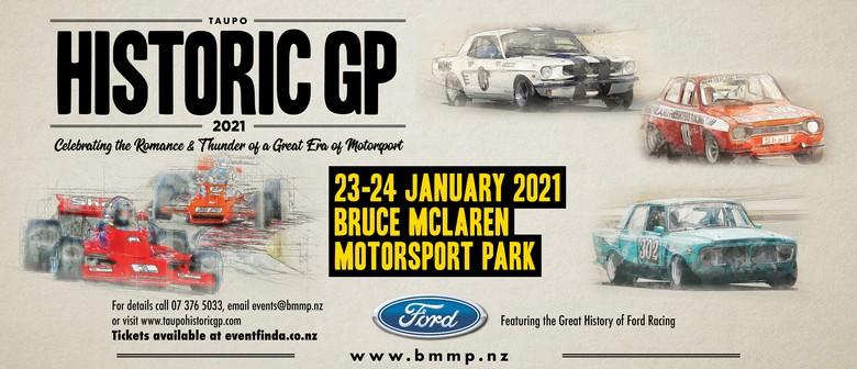 Taupo Historic GP 2021