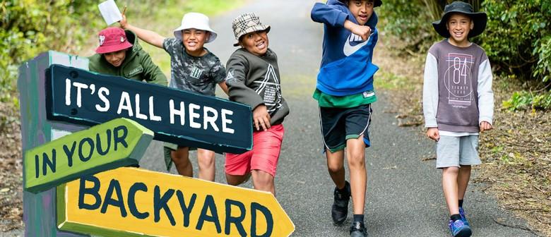 Child vs Wild at Kaitoke