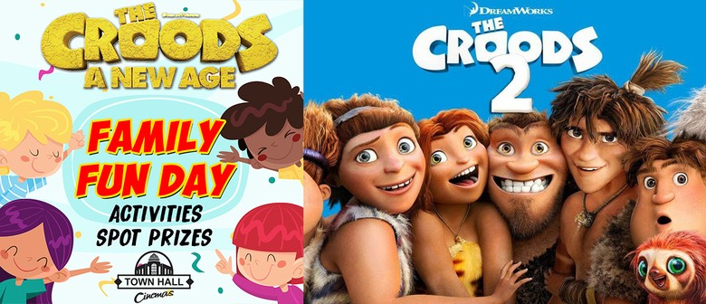 The Croods 2 Family Fun Day!
