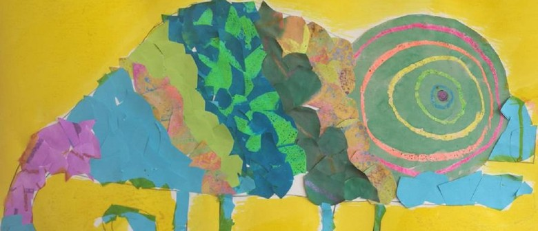 January School Holiday Art - A Day in the Desert