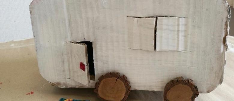 January School Holiday Art - Caravans & Tiny Houses
