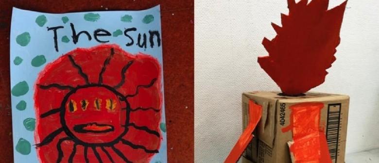 January School Holiday Art: Hot Stuff - Summer Makespace