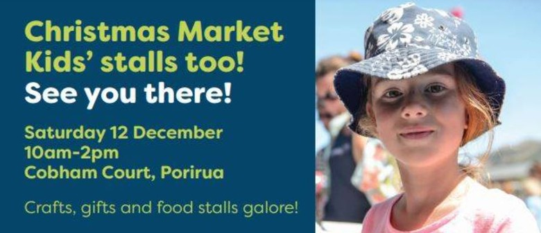 Christmas Market with Kids Stalls
