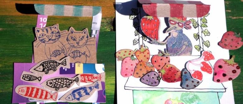 January School Holiday Art - Summer Market