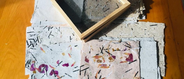 January School Holiday Art - Make Your Own Handmade Paper