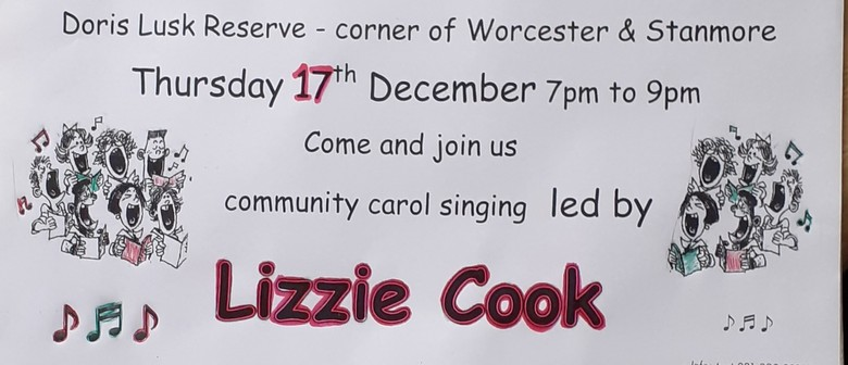 Carols in the Park with Lizzie Cook