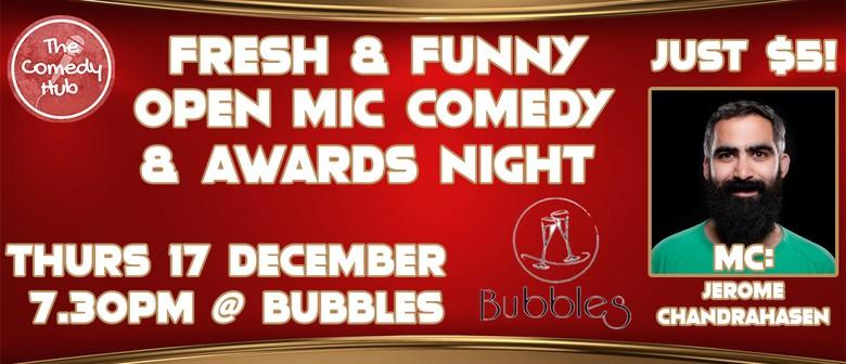 Fresh & Funny: 2020 Comedy Hub Awards Night