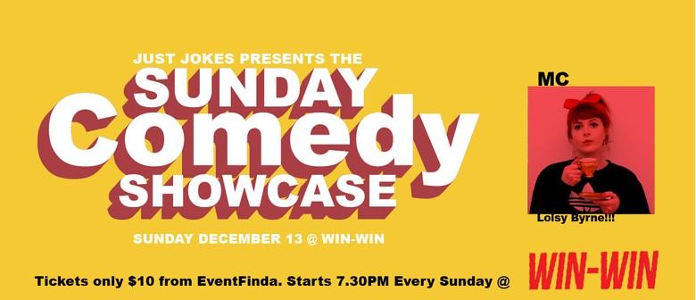 Sunday Comedy Showcase at WIN-WIN