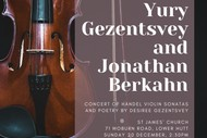 Concert - Yuri Gezentsvey and Jonathan Berkahn
