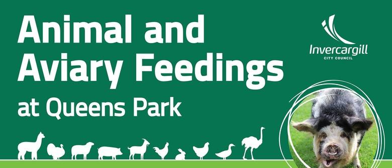 Animal & Aviary Feedings