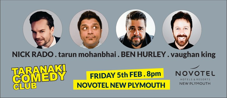 Taranaki Comedy Club - February 2021