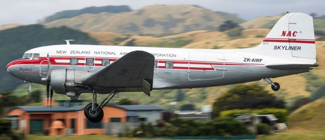 DC-3 Scenic Flights at Kāpiti Coast Airport