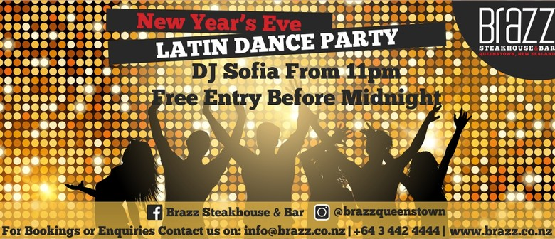 New Year's Eve Latin Dance Party