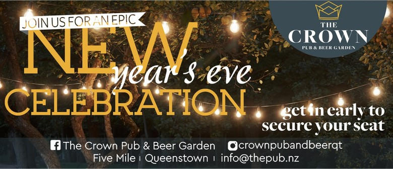 New Year's Eve Celebration at The Crown Pub and Beer Garden