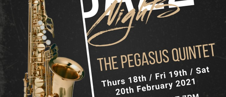 Late Night Jazz - Come and fly with Pegasus: CANCELLED
