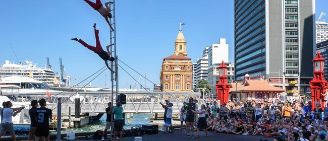 Auckland International Buskers Festival 2021