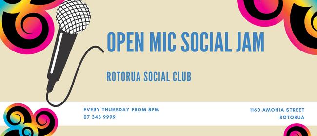 Open Mic Social Jam