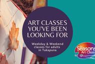 Adult Art Classes for Beginners in Takapuna