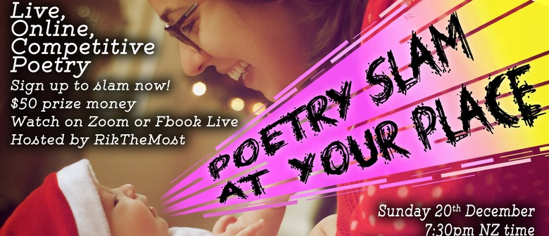 Poetry Slam at Your Place - Event #32