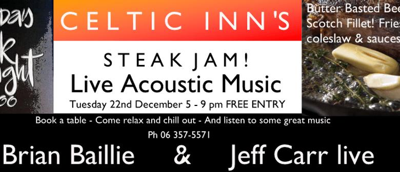 Steak Night Jam ft Brian Baillie & Jeff Carr