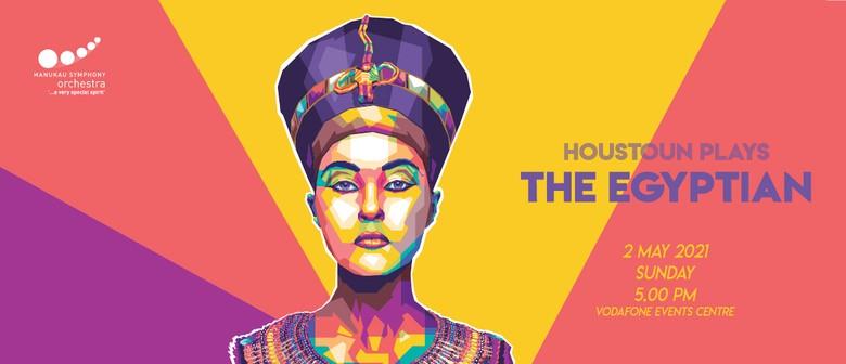 Houstoun plays 'The Egyptian'