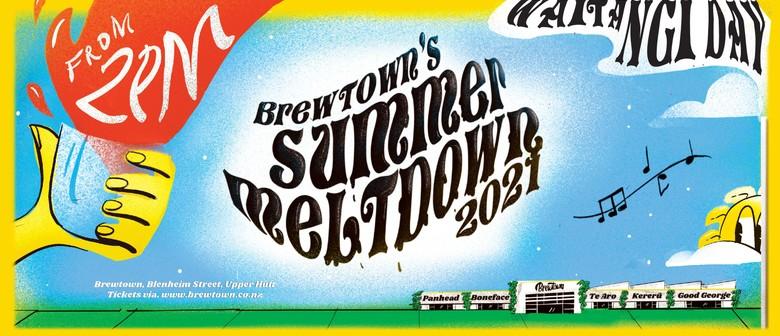 Brewtown's Summer Meltdown '21