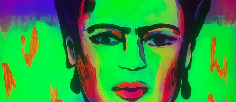Glow in the Dark Paint Night - Fluro Frida
