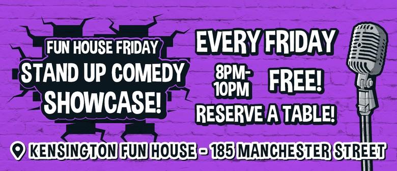 Fun House Friday Comedy Night