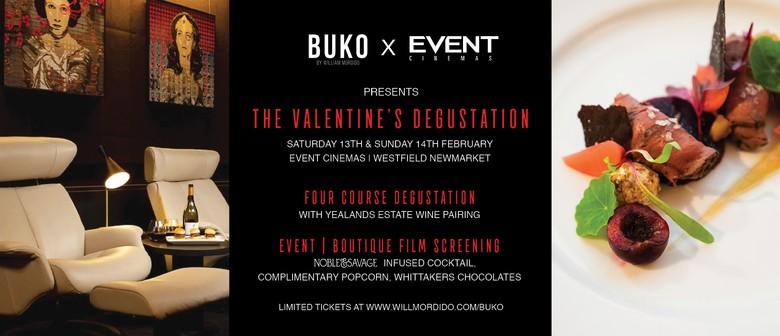 BUKO x EVENT Cinemas - The Valentine's Degustation