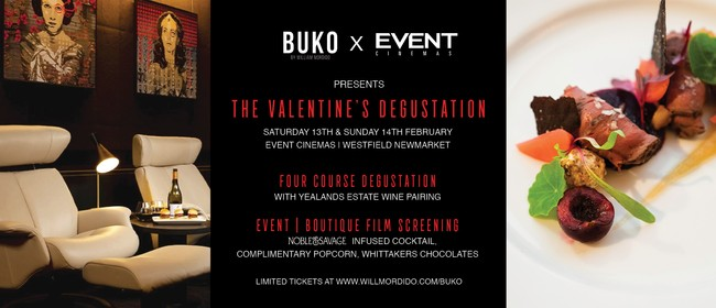 BUKO x EVENT Cinemas - The Valentine's Degustation