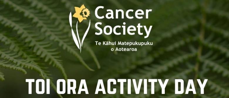 Cancer Society Toi Ora Activity Day