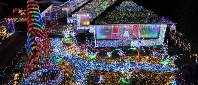 Notenoughlights Christmas Light Show