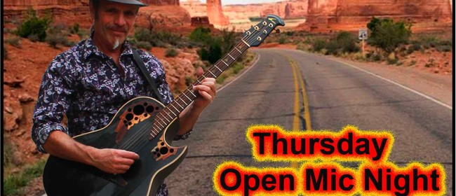Takaka Open Mic Night with Ron Valente