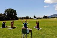 Outdoor Yoga at Waikanae Park